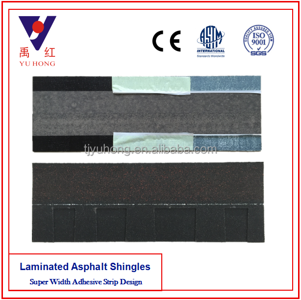 Charcoal Black Laminated Asphalt Shingle