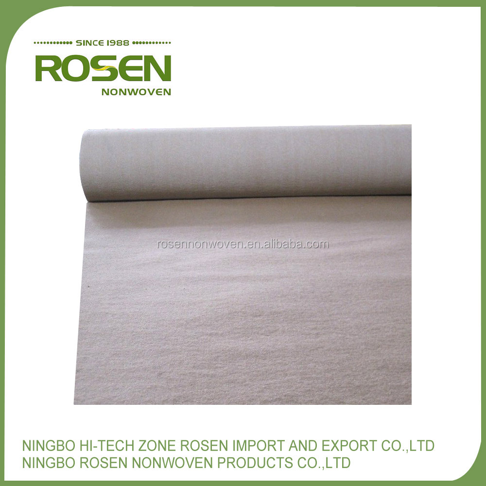 RS NONWOVEN high quality needle punched polyester fabric needle felt in roll