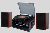 High end Multi-function CD USB recording Turntable player