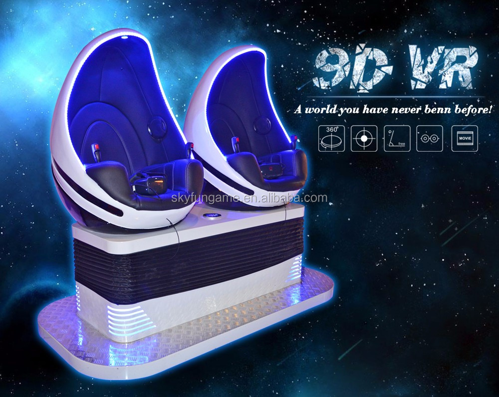 2016 immersive cinema equipment /video games 9d VR cinema theater equipment