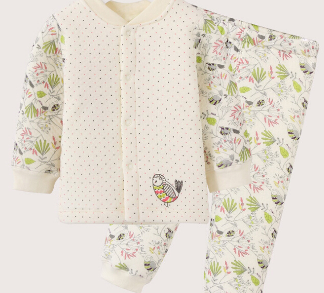 S12327A NEWEST AUTUMN/WINTER THICKENED CARTOON CUTE BABY UNDERWEAR SETS