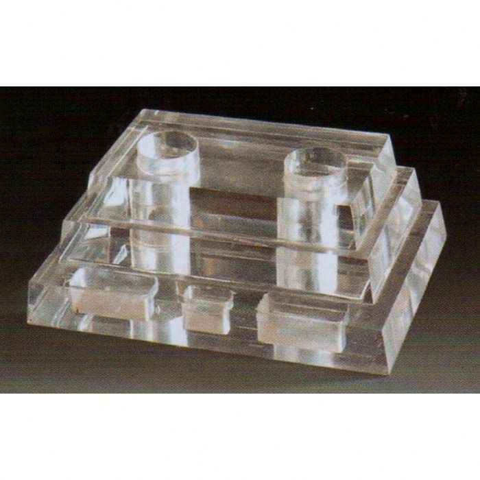 Acrylic Wireless Microphone Holder entertaiment place acrylic display Hotel Supplies
