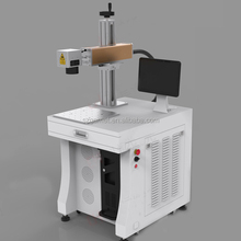 3D Photo Printer 15W 30W CO2 Laser Marking Machine Engraving Stone Crystal Wood Leather Glass Material OEM Customized Equipment