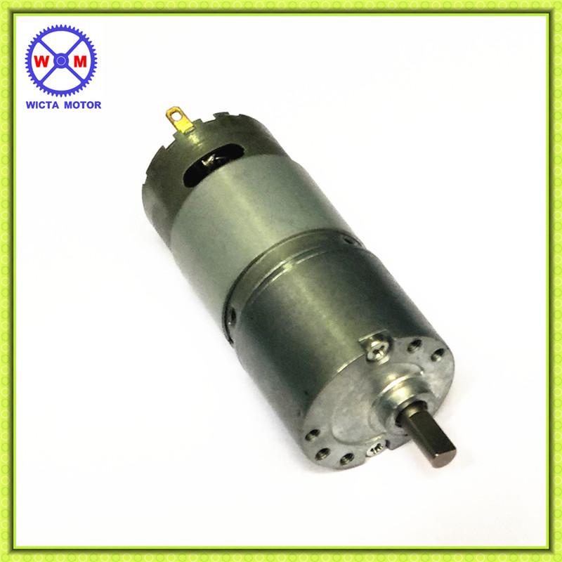 Low Noise 30mm Reversible High Torque Low Speed 12 Volt