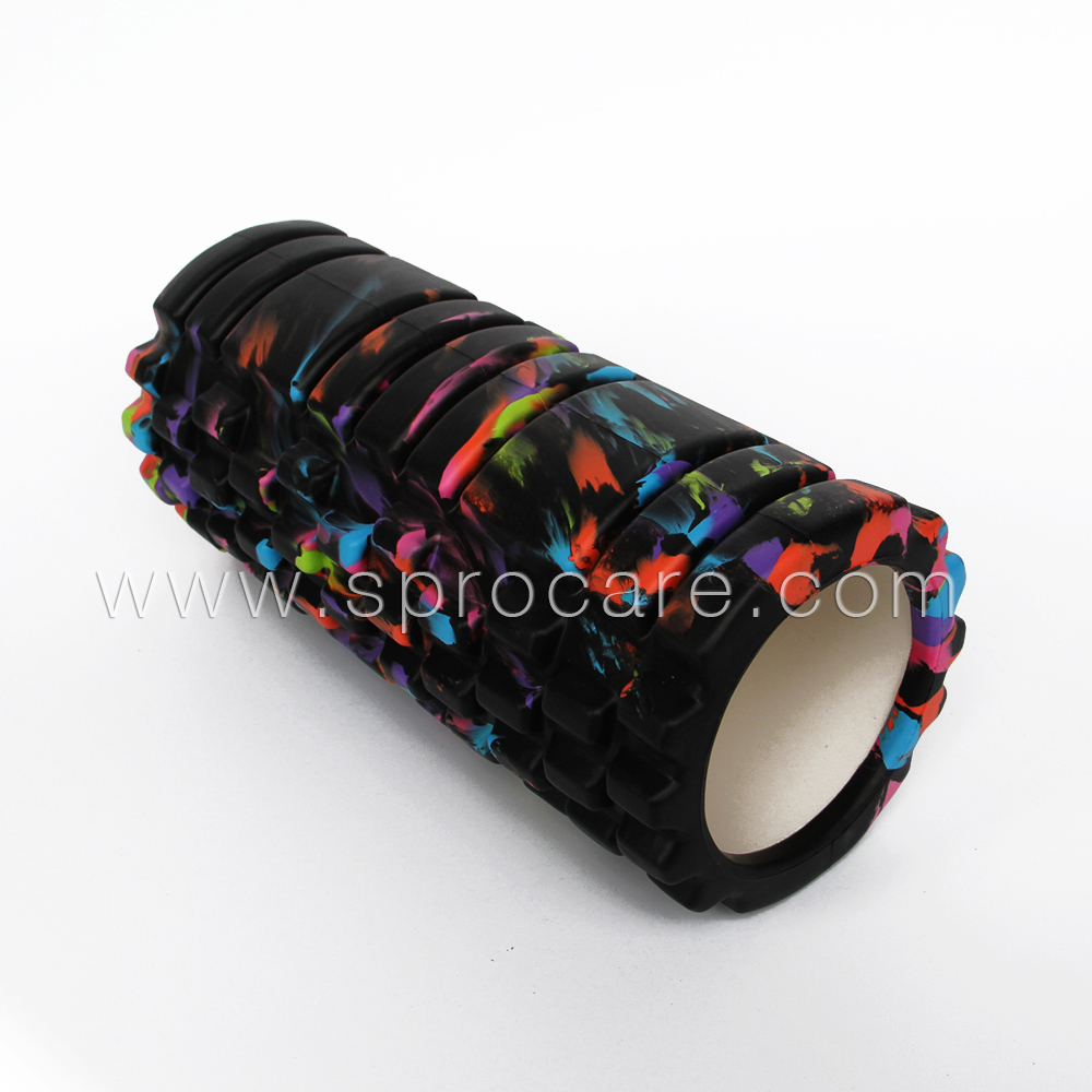 SP-FR6 Colorful Yoga Foam Roller For Deep Tissue Muscle Massage,Point & Myofascial Release