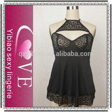 Hot Sale Fashion Show Sexy Babydoll Wholesale All Kinds Of Black Hot Open Sexy Babydolls Latex Hot Sexy 2013 Babydoll