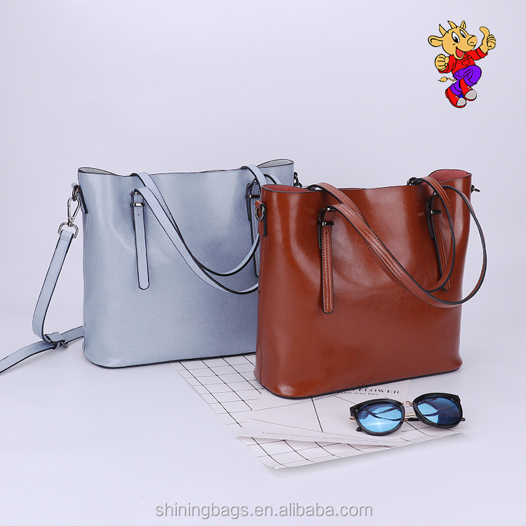 2017 new stylish high quality lady fashion <strong>designer</strong> no name fashionable wholesale leather handbags