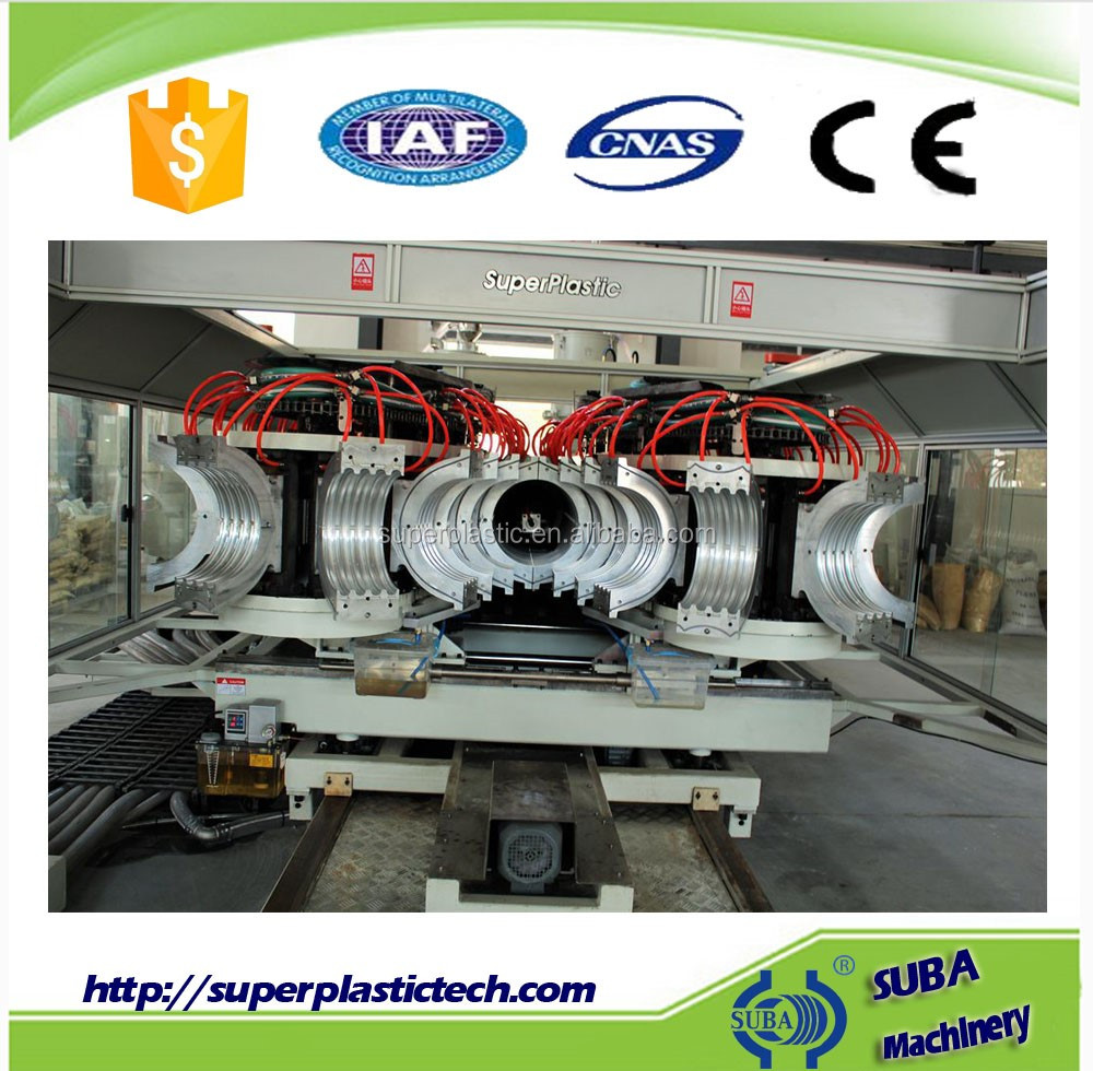 Plastic and rubber drip irrigation pipe production line made in China