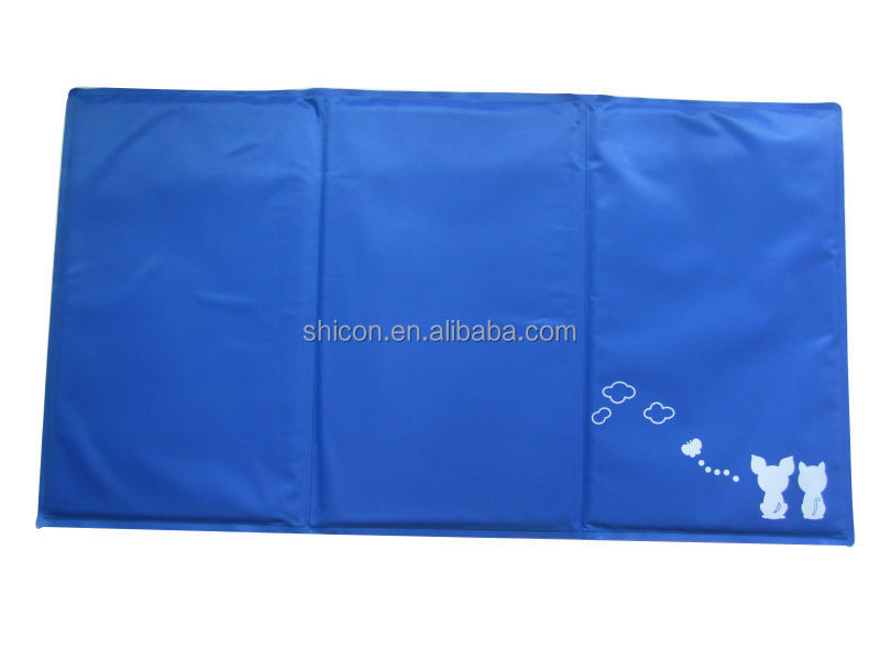 Pet gel cooling pad / pet gel cooling mat