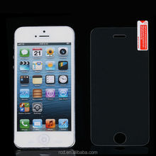 For IPhone 5 5S 5G 4 4S 4G Tempered Glass Clear Screen Protectors, Anti-Scratch Premium Film Clear Screen Guard RCD04010