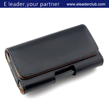 belt clip holster leather case for iphone 6 4.7'' & 5.5'', OEM order can be accepted