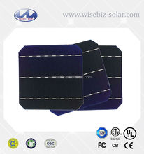 Monocrystalline Silicon Material solar cells for solar panel made in Taiwan