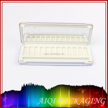 2014 newest hot selling cosmetic square tin box with window