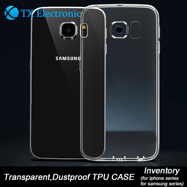 Wholesale tpu transparent phone case for samsung series,for samsung galaxy s7 case transparent clear