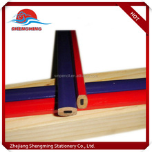 Promotional Custom Standard cheap carpenter pencil with logo available