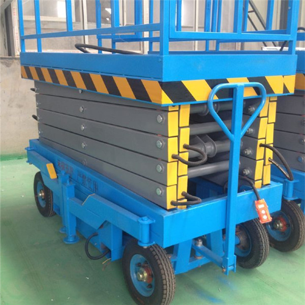 diesel engine mobile hydraulic scissor lift