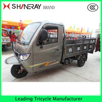 Enclosed motor tricycle with driving cabin3 wheel motorized scooter for cargo tricycle with low price