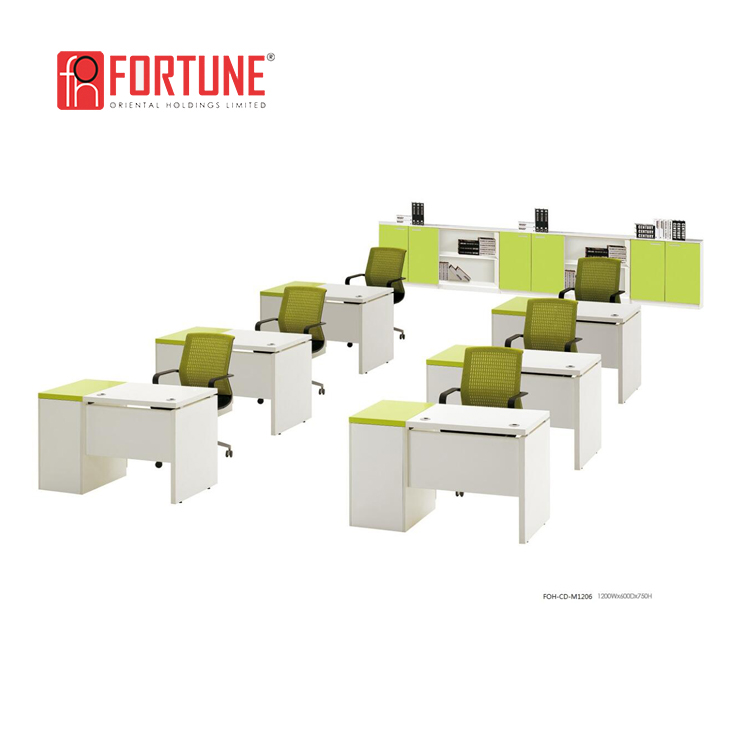 Latest Europe market office computer table design(FOH-CD-AM1412)