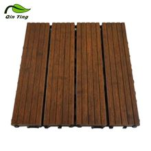 Latest Solid Bamboo Outdoor Flooring