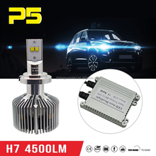 Super Bright h7 4500LM High Power 45W Auto Led Headlight Lamp 5th Generation Car Headlight Running Light