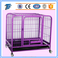 ISO9001 commercial dog crates pet cages with strong secure rounded corner