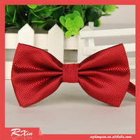RED fashion bow tie married bow ties male butterfly ties for men wholesale