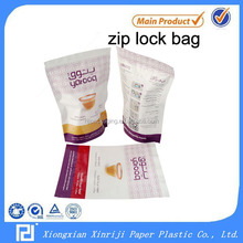 Plastic Material seed packaging bags with zipper