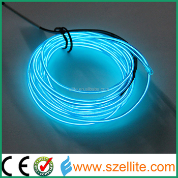 2017 Year Most Popurlar Decoration EL Wire with High Brightness