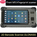 "7"" Front NFC RFID 2D Barcode Scanner ID card reader Fingerprint scanner Rugged Tablet PC HR708 rugged tablet PC"