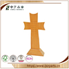 Hot selling decorative wood crafts pine carved unfinished standing wooden crosses
