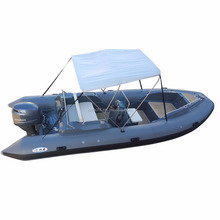 2017 Year Fiberglass Hull Inflatable Fiberglass Speed Boat