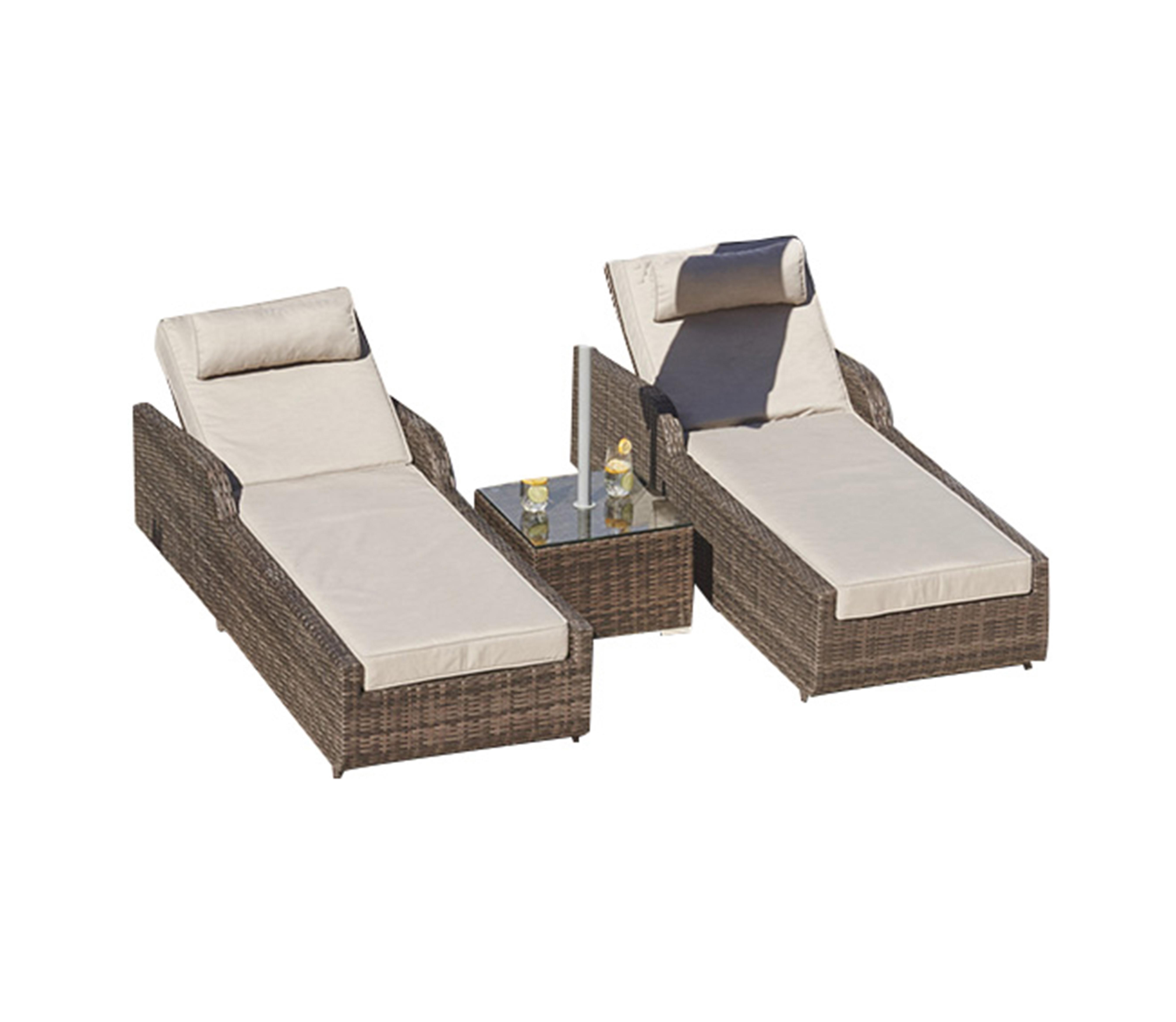 Outdoor Swimming Pool Rattan Furniture Sunlounger Set Buy Sunlounger Outdoor Furniture Outdoor Sunlounger Product On Alibaba Com