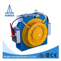 Parts Elevator Traction System gearless traction machine small elevator for 2 person