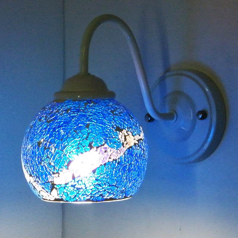 Colorful glass lampshade lampshade making supplies wholesale