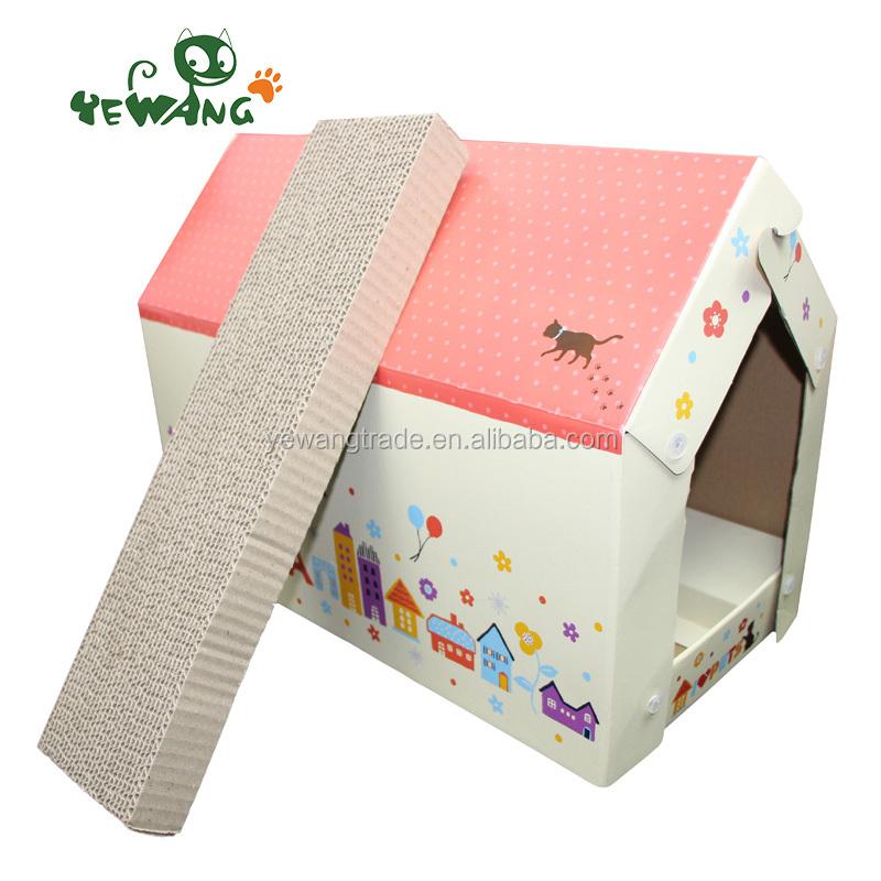 gro handel karton katzenhaus kaufen sie die besten karton. Black Bedroom Furniture Sets. Home Design Ideas