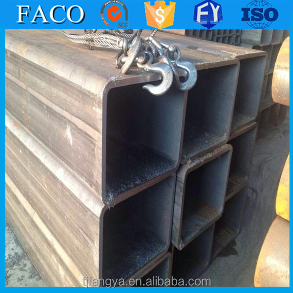 Tianjin square rectangular pipe ! 5mm wall thickness steel tube q235 small diameter square tube