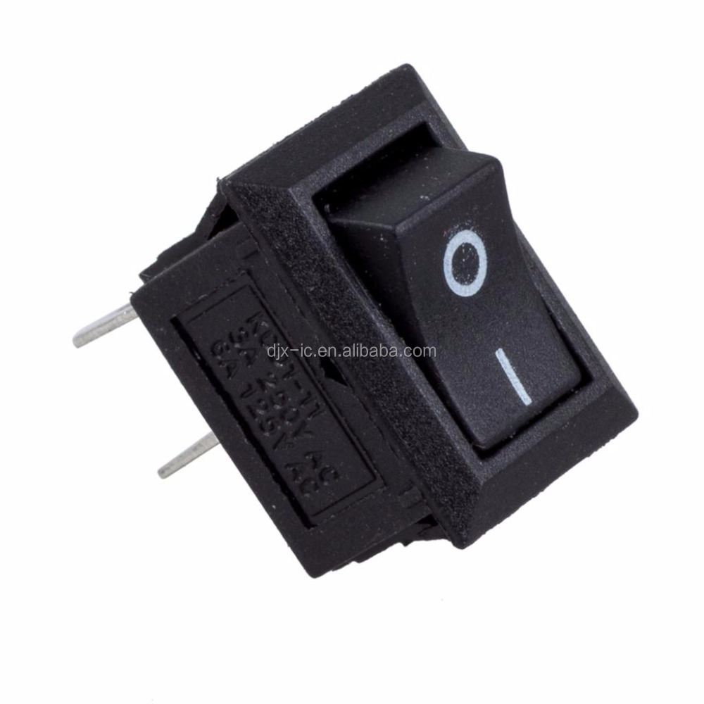 <strong>5</strong> x AC 250V 3A 2 Pin ON/OFF I/<strong>O</strong> SPST Snap in Mini Boat Rocker Switch