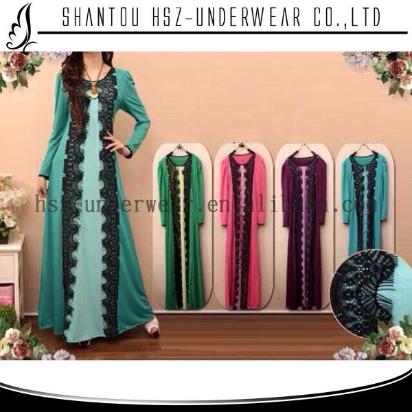 Как сшить мусульманское платье в пол 1