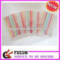 Colorful acrylic self-adhesive rhinestone gem sticker
