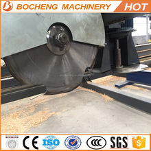 double blades angle sawmill both vertical and horizontal circular blades for woodcutting machine