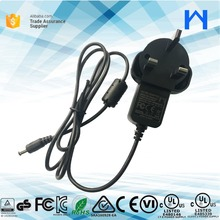 LEVEL 6 AC Power Adapter 5V 2100ma UL KC SAA C-tick RCM CB GS 5V 2.1A wall mount adapter for CCTV camera