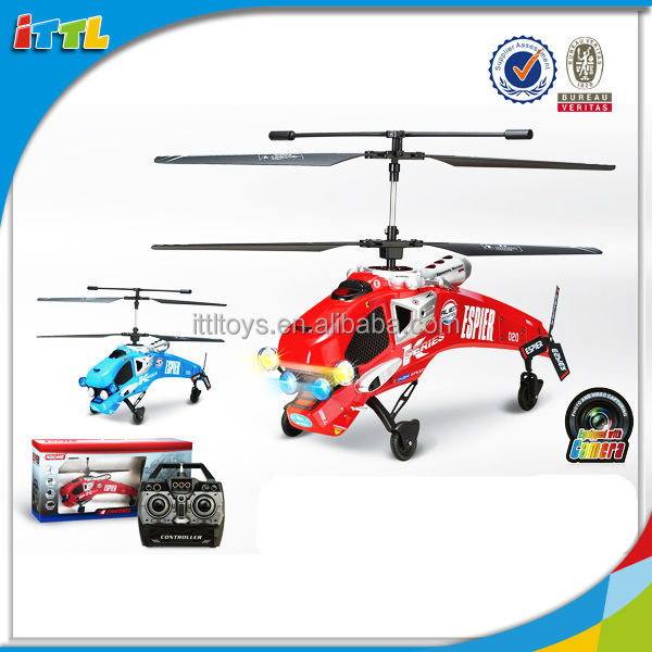 Hot model 2015! 4 channel with gyro and camera remote control helicopter