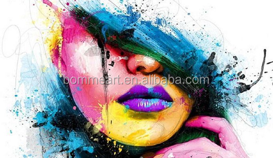 Popular modern print painting for home decor wall arts