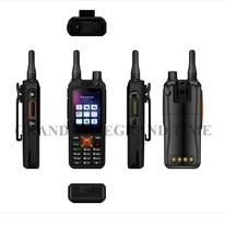 3G Two Way Radio GSM Cell Phone Two Way Radio With Dual Sim Card, BT, Wifi