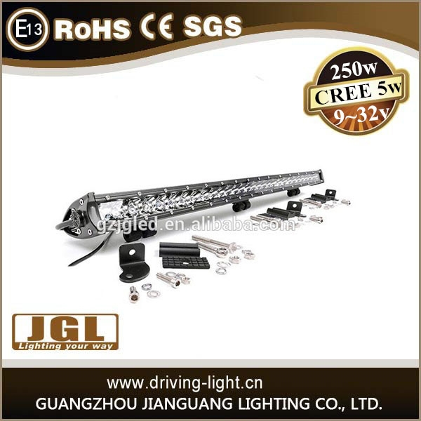 4x4 led lights 50'' led light bar 100w 150w 200w 250w cree led driving light bar for heavy duty,auto parts,cars