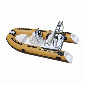 cheap hypalon military patrol semi small rigid fiberglass boat