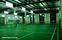 4.5mm thickness indoor pvc sports flooring for badminton