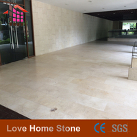 First quality natural new crema marfil marble slab price