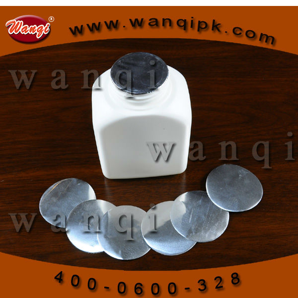 PP aluminum foil seal film induction wad