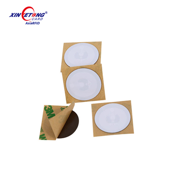 ISO15693 TI RFID Label/Tag 13.56MHz RFID Sticker for ID Management